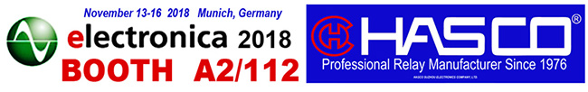 Electronica 2018, November 13-16, 2018 in Munich, Germany. Booth A2/112